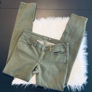 Like new PrAna Karly Jean. Olive. Size 4.